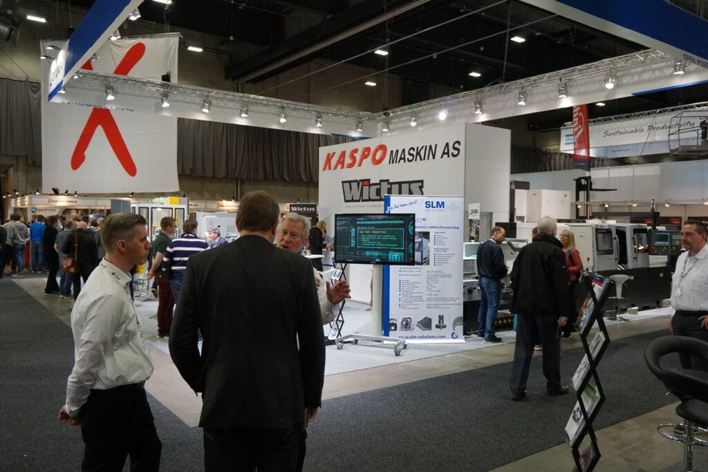 Kaspo Maskin på SMART industri